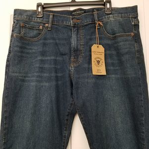 Lucky Brand Mens Jeans 221 Original Straight Fit